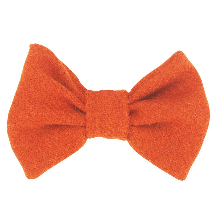 Luxusní motýlek pro psy Edison Orange