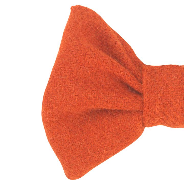 Designový motýlek pro psy Edison Orange