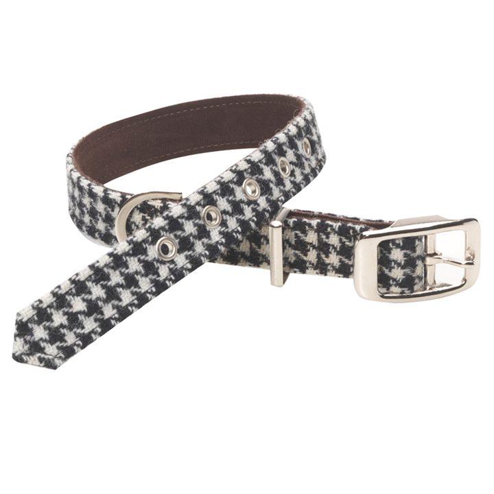 Luxusní obojek pro psy Ellesmere Harris Tweed