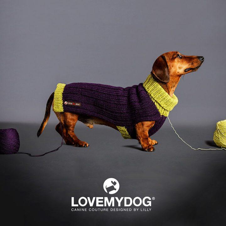 Luxusní svetr pro psy