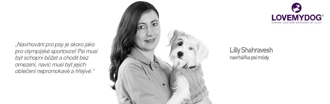 Luxusní móda pro psy - Lilly Shahravesh (LoveMyDog)