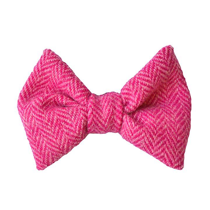Luxusní motýlek pro psy Pixley Harris Tweed