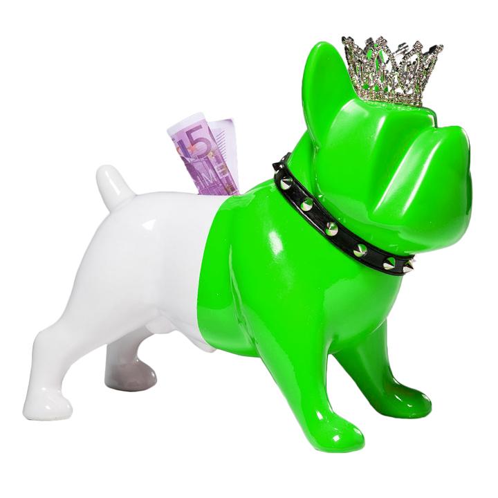 Pokladnička King Dog Green