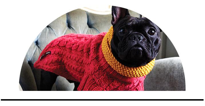 Svetry pro psy luxusní z vlny