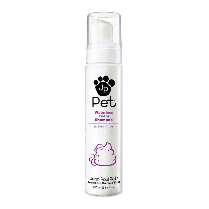 Bezoplachový suchý šampon pro psy a kočky John Paul Pet