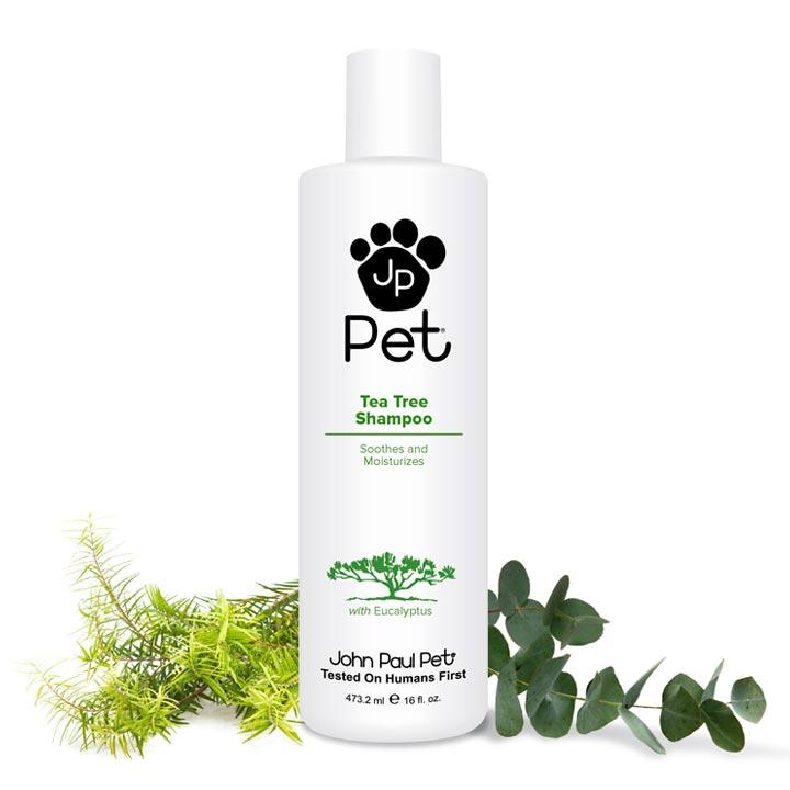 Repelentní a hojivý šampon s čajovníkem pro psy John Paul Pet