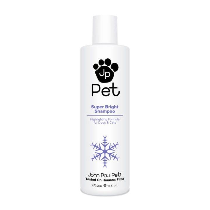 Šampon pro intenzivní barvu a lesk bělící fialový šampon pro psy