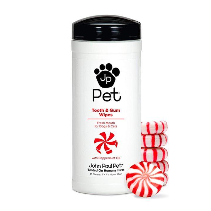 Vlhčené ubrousky pro psy na zuby a dásně John Paul Pet