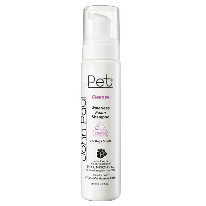 Bezoplachový suchý šampon pro psy a kočky