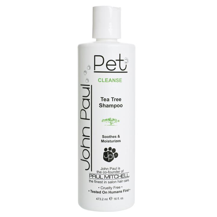 Čistící a hojivý šampon s čajovníkem pro psy a kočky
