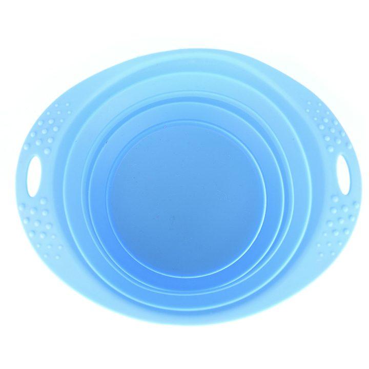 Modrá cestovní miska