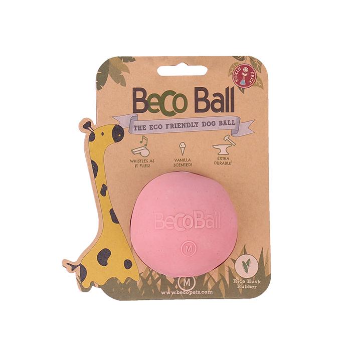 Růžový míček Přines!