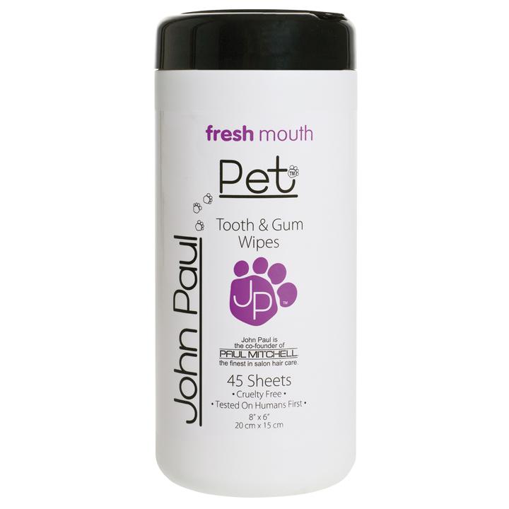 Ubrousky na zuby a dásně pro psy a kočky