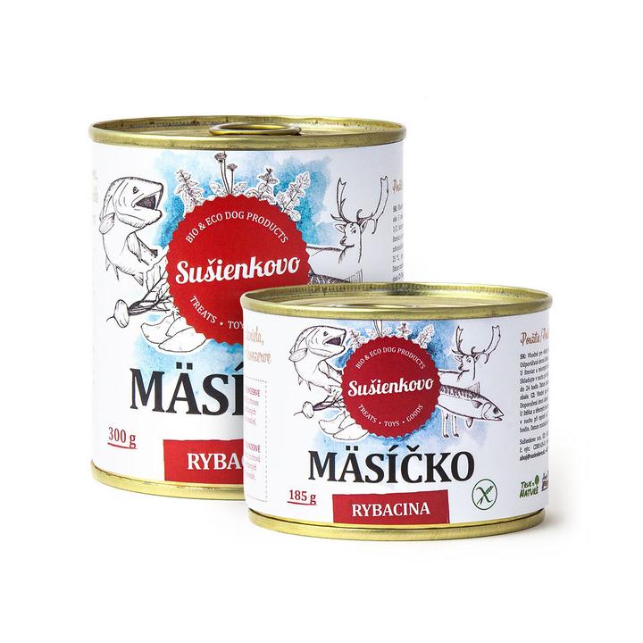 Rybí masíčko - konzerva pro psy