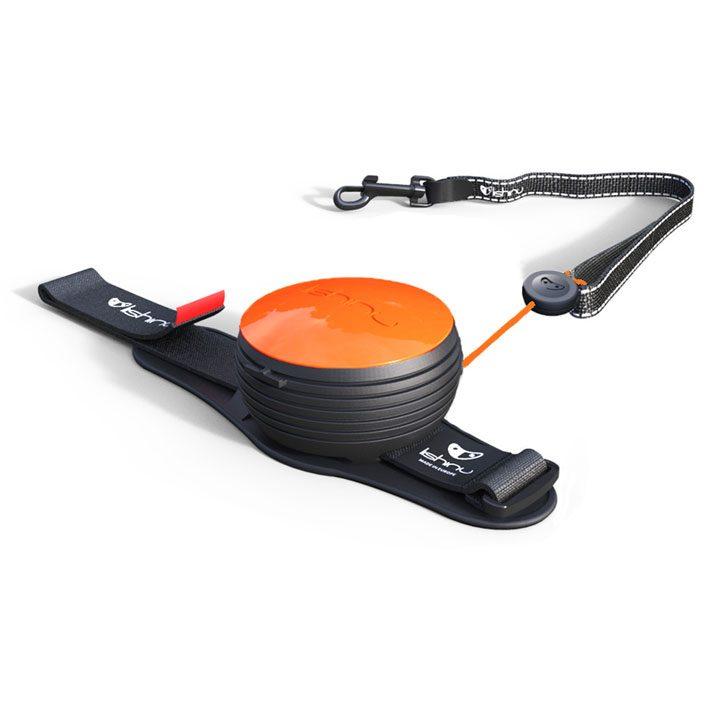 Vodítko Lishinu NEON Light Lock Orange