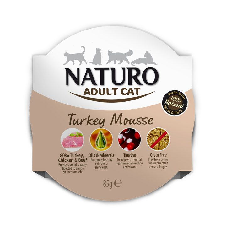 NATURO Cat Krůtí mousse