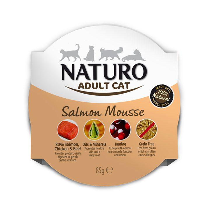 NATURO Cat Lososový mousse