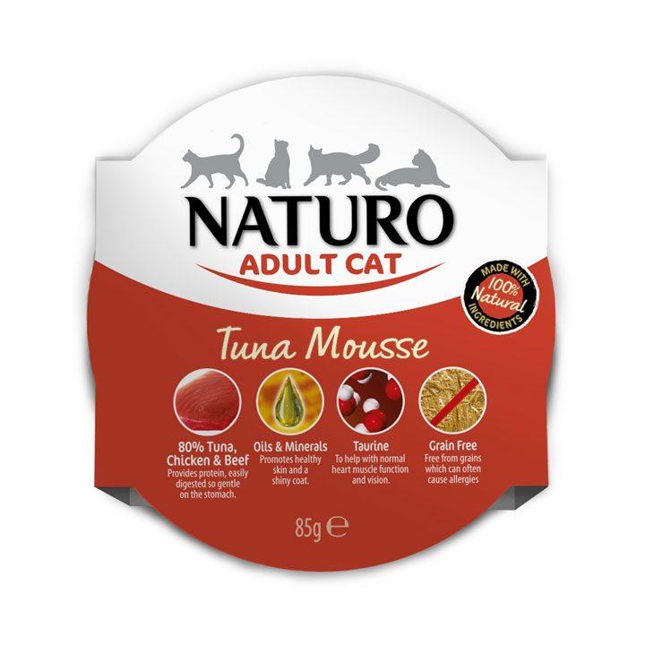 NATURO Cat Tuňákový mousse