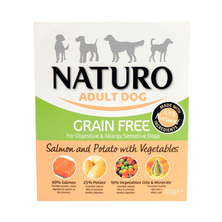 NATURO Grain Free Losos s bramborami