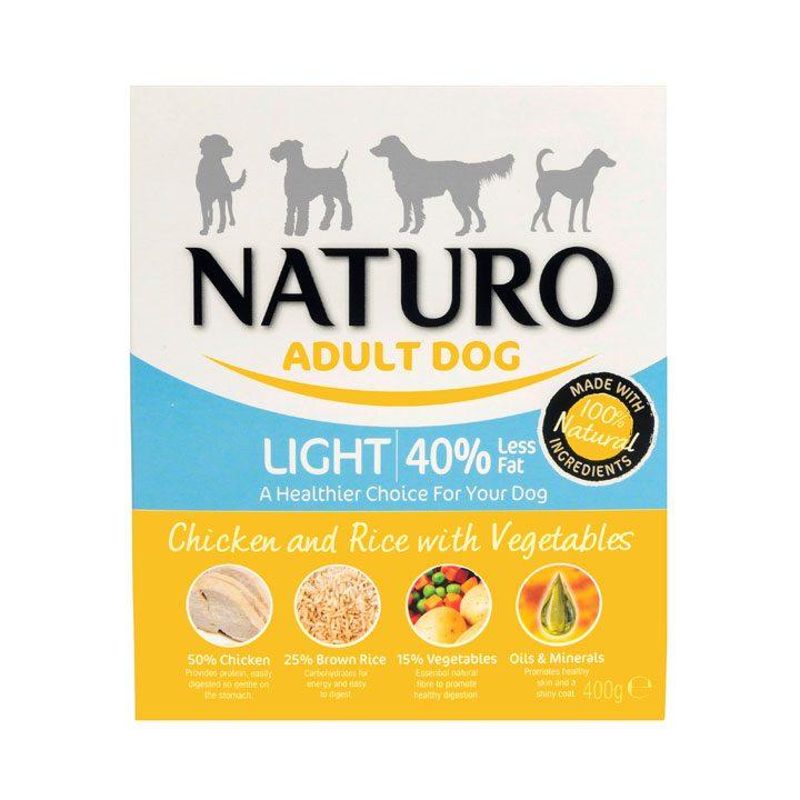 NATURO Light Kuřecí s rýží a zeleninou