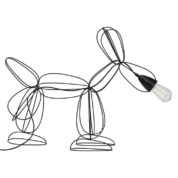 Lampa Dog Wired - lampa se psem