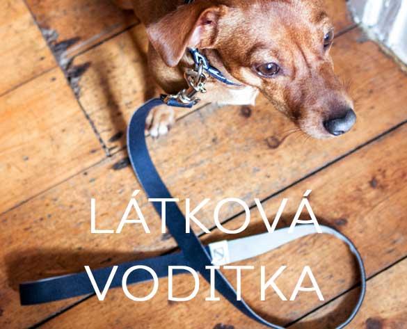 Látková vodítka textilní pro psy