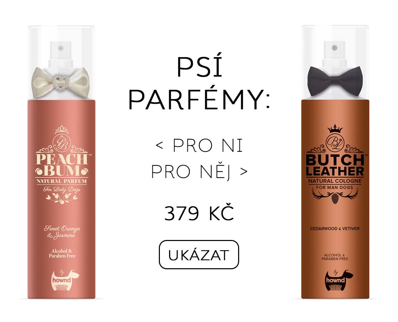 Parfémy pro psy
