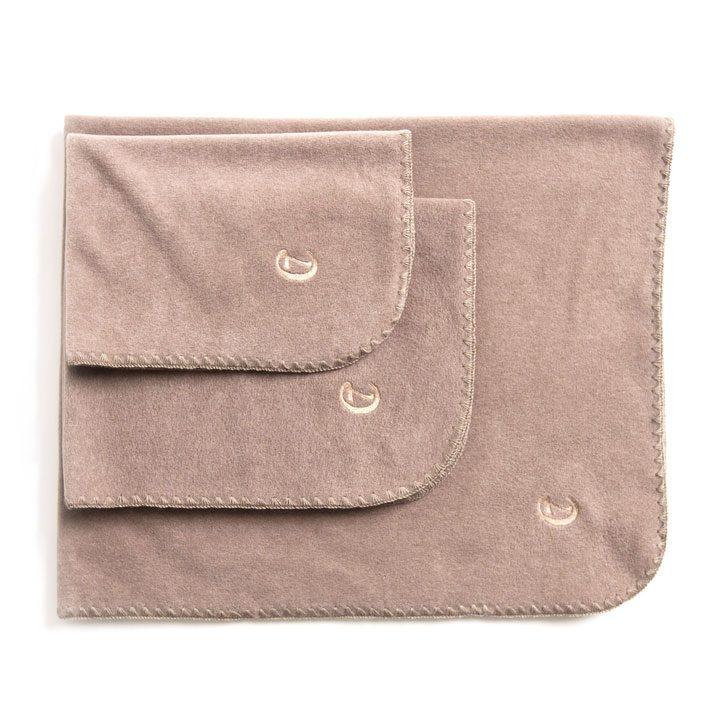 Hedvábná deka Soft Fleece Sand