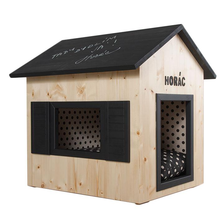 Domeček Bistro bouda pro psy do interiéru