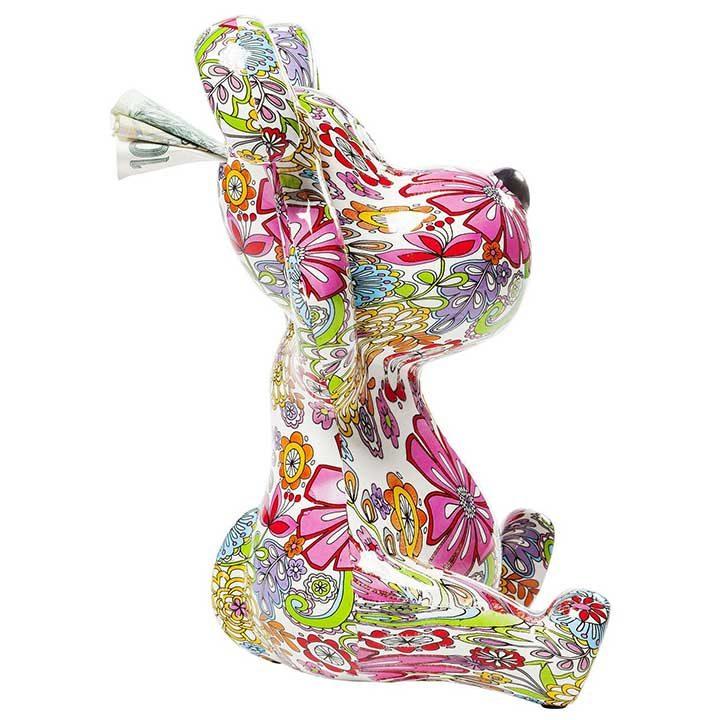 Flower Dog dekorace se psem