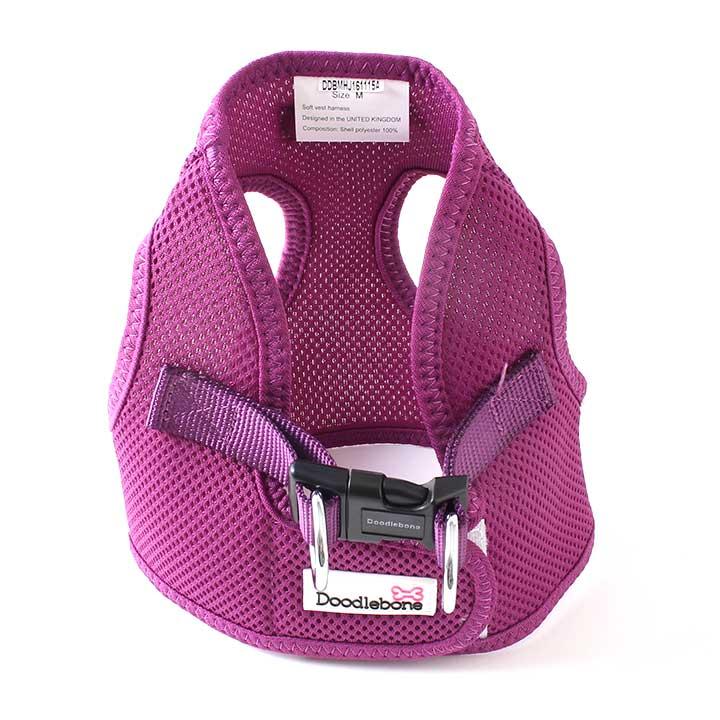 Postroj Airmesh Snappy Purple pro psy pre psov Doodlebone
