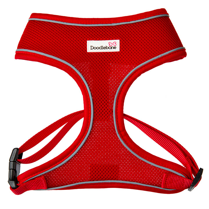 Doodlebone Postroj Airmesh Red