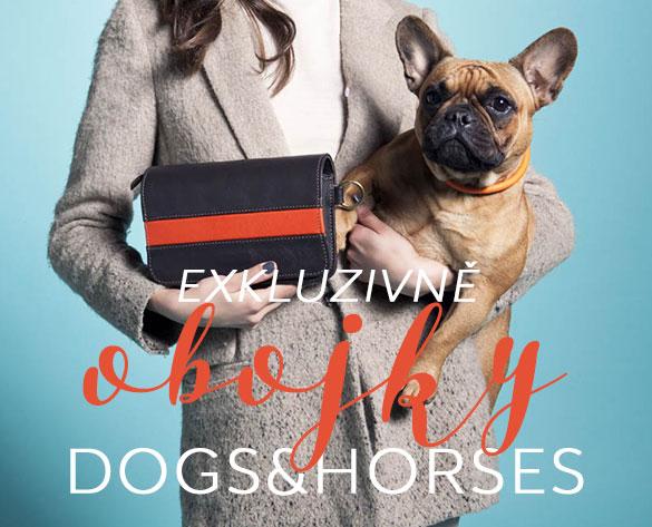 Kožené obojky pro psy pre psov Dogs and Horses