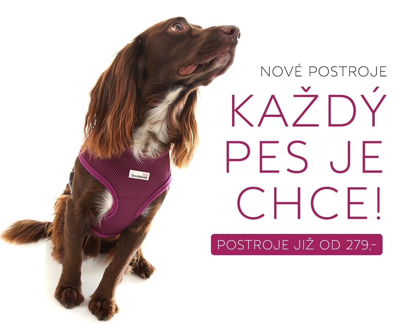 Postroje kšíry pro psy pre psov Doodlebone
