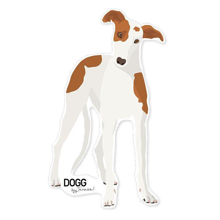 Samolepka Greyhound chrt