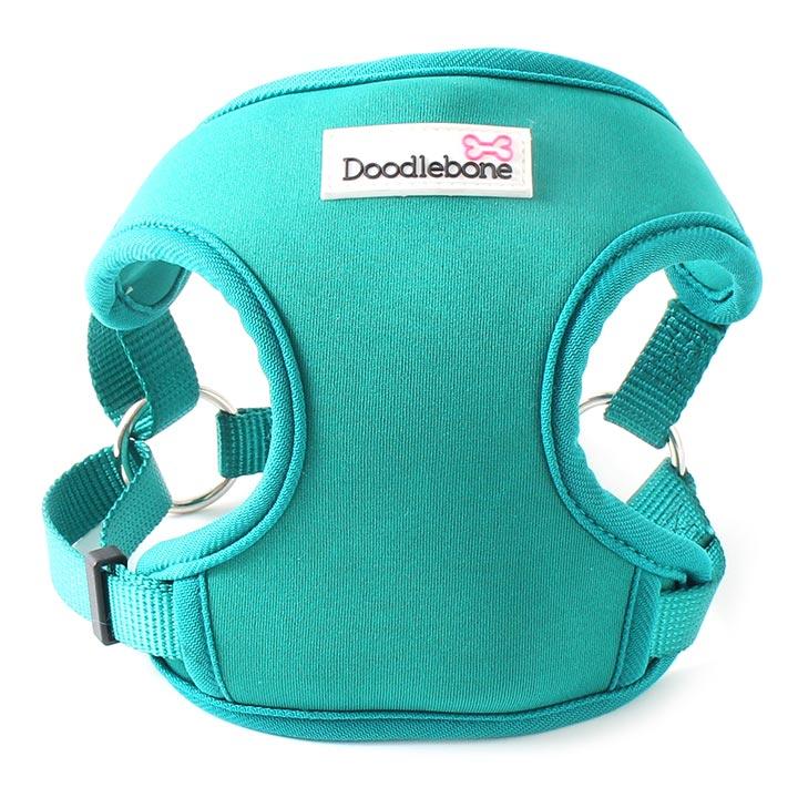 Chladící postroj pro psy levný Doodlebone NeoFlex Blue-Green