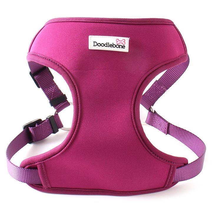 Chladící postroj pro psy levný Doodlebone NeoFlex Purple