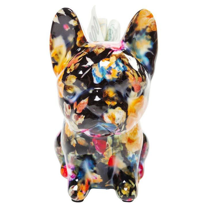 Dog Fiore Black dekorace buldoček mops