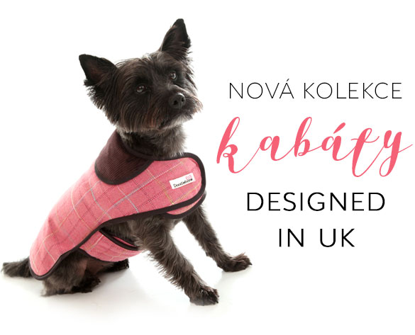 Zimní oblečky kabáty pro psy pre psov