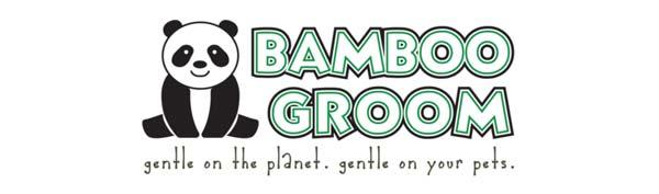 Bamboo Groom přírodní kartáče pro psy z bambusu