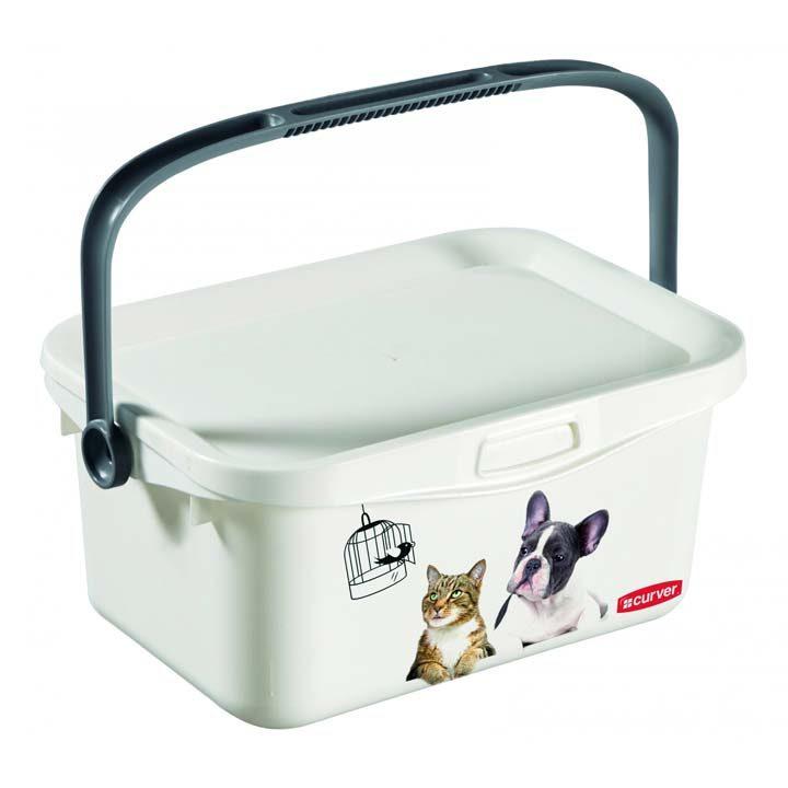 Multibox 3 l box krabice na psí hračky vybavení Curver