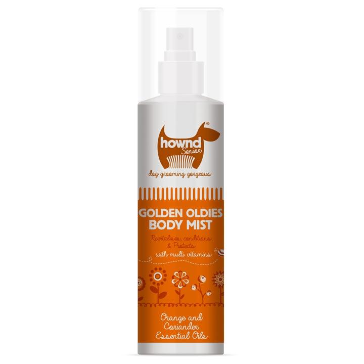 Hownd Přírodní deodorant proti zápachu pro seniory staré starší psy