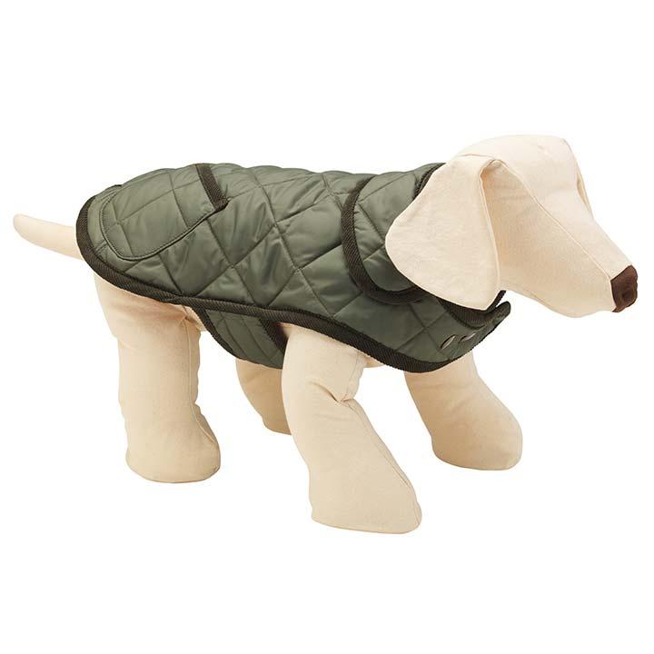 Kabát New Elwin Olive luxusní obleček pro psy LoveMyDog