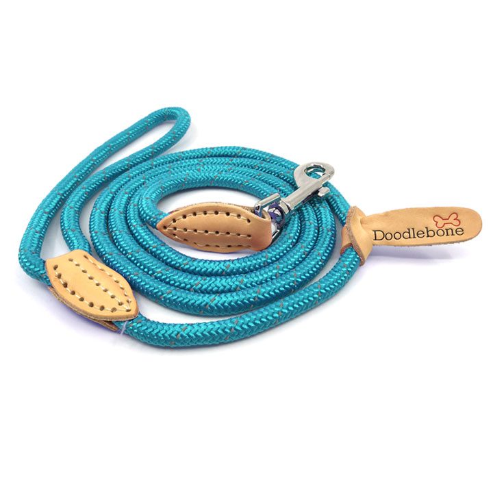 Lanové vodítko pro psy kulaté Doodlebone