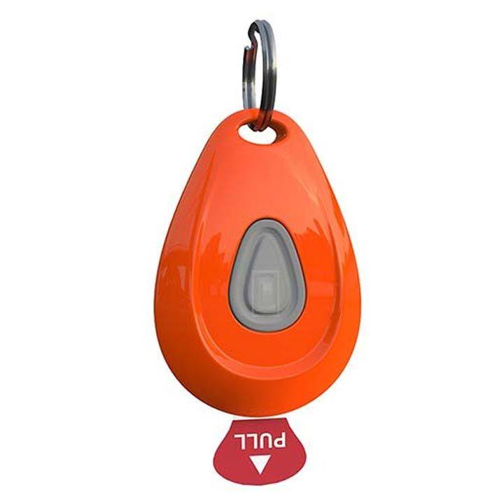 ZeroBugs Přívěsek proti klíšťatům a blechám Orange