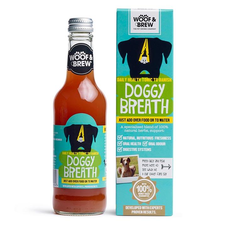 Doggy Breath Tonic pro psy proti zápachu z tlamy