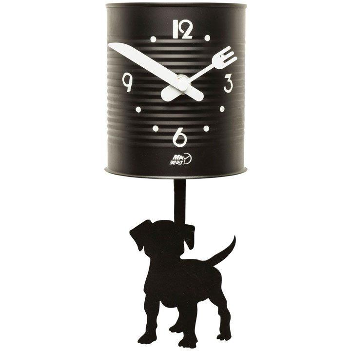 Nástěnné hodiny Tin Dog