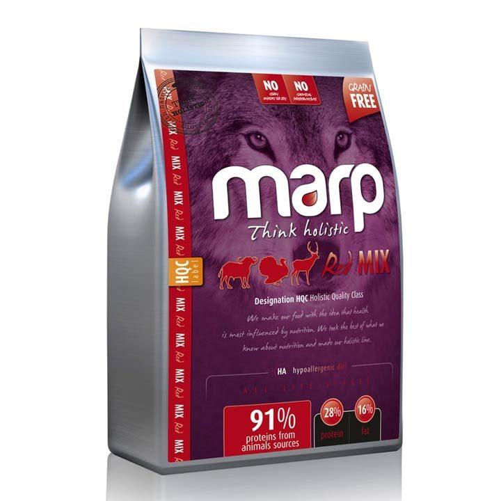 Granule Hovězí Angus Marp Holistic Red Mix pro psy