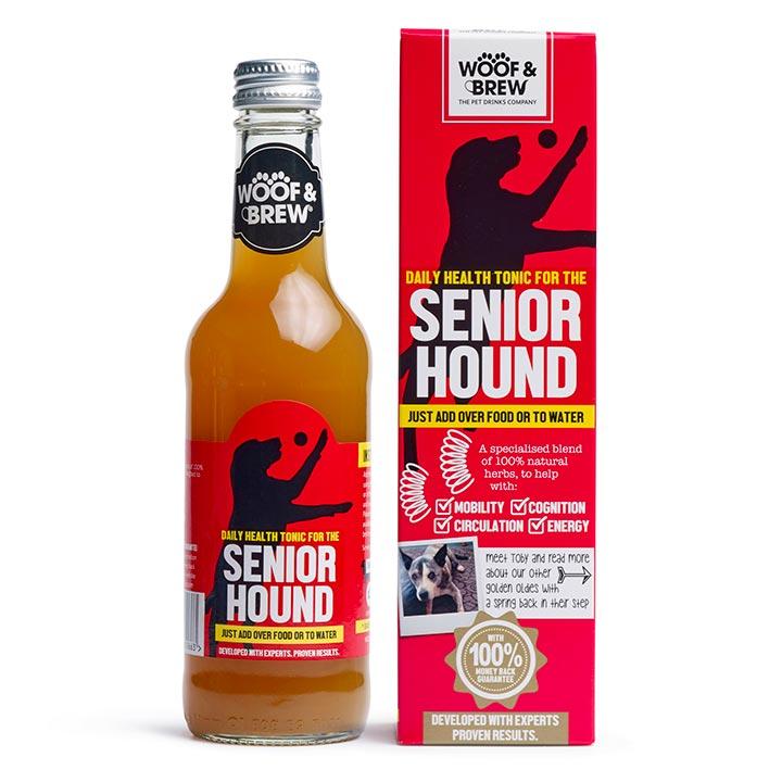 Senior Hound Tonic pro psy na klouby a dodání energie