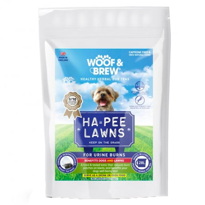 Bylinný čaj pro psy Proti skvrnám na trávníku